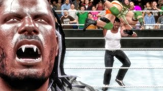 getlinkyoutube.com-WWE 2k16 My Career Gameplay - QJBEAST RETURNS & DISRESPECTS RYBACK! Ep. 15