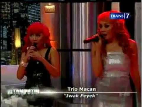 Trio Macan - Iwak Peyek (Hitam Putih Trans7)
