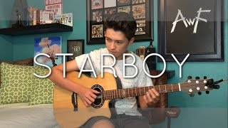 getlinkyoutube.com-The Weeknd - Starboy ft. Daft Punk - Cover (Fingerstyle Guitar)