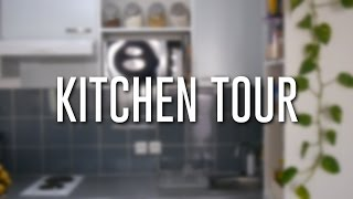 getlinkyoutube.com-Un tour dans ma cuisine | Kitchen Tour