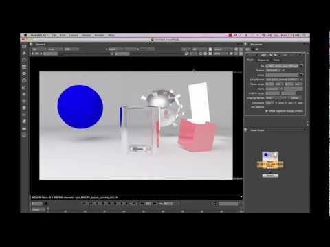 Multi Pass Rendering in Mental Ray - Maya 2011 - 02
