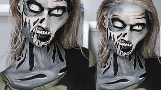getlinkyoutube.com-The Walking Dead Comic Zombie Makeup Tutorial