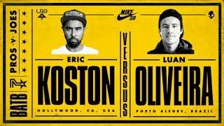 getlinkyoutube.com-Eric Koston Vs Luan Oliveira: BATB7 - Finals