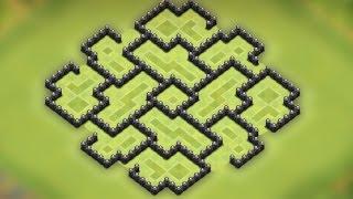 getlinkyoutube.com-Clash of clans - Town Hall 8 (Th8) Farming base [Dark storage protecting] Speed build