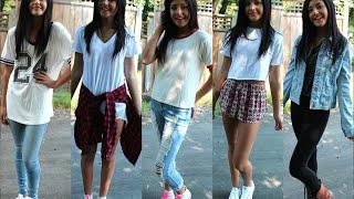 getlinkyoutube.com-Simple Back 2 School Outfit Ideas! // Back 2 School 2014 // Jasmine Sky
