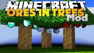 getlinkyoutube.com-Minecraft Mod - TREE ORES MOD - GROW ORES