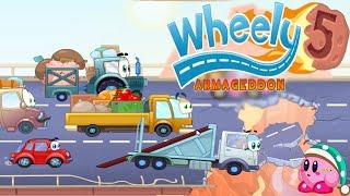 getlinkyoutube.com-Wheely 5 Armageddon All Levels Walkthrough