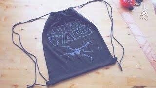 getlinkyoutube.com-Sewing + Refashion DIY Drawstring Backpack / Gym Bag