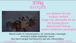 BLACKPINK - STAY [MV, EASY LYRIC, LIRIK INDONESIA]