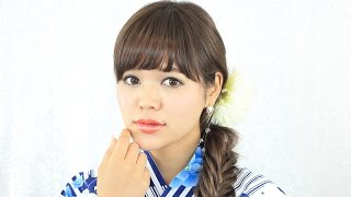 getlinkyoutube.com-ネオンリップで大人の色気~明るめ浴衣に合うデートメイク~【ダイジェスト版】