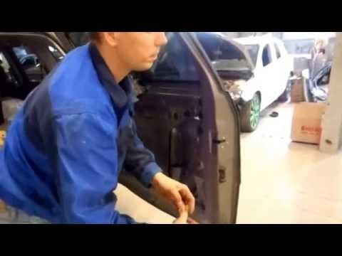 Как снять ручку багажной двери на CHERY TIGGO FL