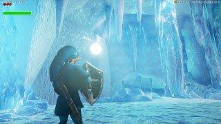 getlinkyoutube.com-Unreal Engine 4 [4.11] Zelda Ocarina Of Time / Zora Domain [Ice]
