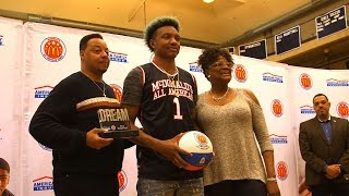 getlinkyoutube.com-Wendell Carter - Pace Academy Forward - Highlights/Interview - Sports Stars of Tomorrow
