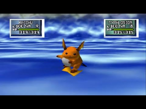 Pokemon Stadium 2 vs Bluegary And Redash