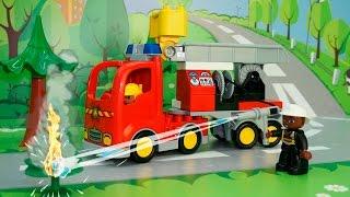getlinkyoutube.com-Машинки мультик. Пожарная машина. Машинки в ЛЕГО мультике - Лесной пожар. Развивающие мультфильмы.