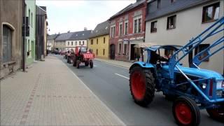 getlinkyoutube.com-Traktorparade Traktorkorso Gefell 22.06.2014