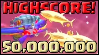 getlinkyoutube.com-MY NEW HIGHSCORE! - Hungry Shark Evolution Alan The Destroyer - Hungry Shark Evolution World Record!