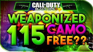 getlinkyoutube.com-Black Ops 3 | HOW TO GET WEAPONIZED 115 CAMO - (WEAPONIZED 115 CAMO FREE - CUSTOM GAMES)
