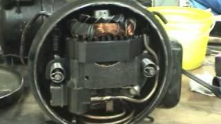 Vintage refrigeration compressors