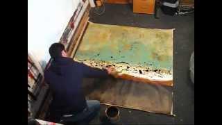 "getlinkyoutube.com-""High Above"" by Abstract artist Gino Savarino"