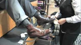 getlinkyoutube.com-How To Polish Cordovan Shoes