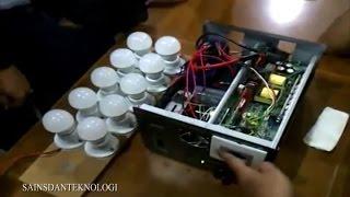 getlinkyoutube.com-Prototype Energi Listrik tanpa BBM Karya Anak Bangsa