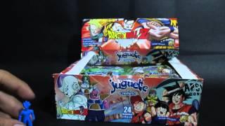 getlinkyoutube.com-Coleccion Dragon ball Z Chocolate Juguete Parte 1/2