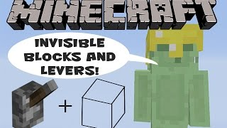 getlinkyoutube.com-Minecraft Xbox 360 Tutorial: Invisible Blocks and Levers!