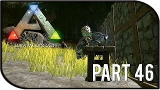 "getlinkyoutube.com-ARK: Survival Evolved Gameplay Part 46 - ""NEW FURNITURE, MEGALOCEROS!"" (Season 2)"