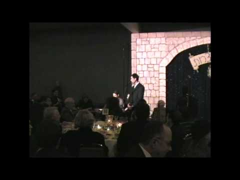 Hazzan Yogev Nuna performs at Ezra Bessaroth Gala