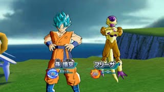 getlinkyoutube.com-Dragon Ball Heroes: Ultimate Mission 2 Golden Frieza and SSGSS Goku  ドラゴンボール ヒーローズ アルティメットミッション2