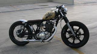 getlinkyoutube.com-Yamaha SR500 bratstyle bobber