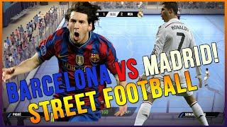 getlinkyoutube.com-FIFA STREET 4 - THE REMATCH BARCELONA VS REAL MADRID
