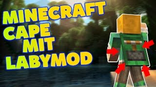 MINECRAFT CAPE FOR FREE! 8/1.9/1.10 MIT LABYMOD [German]