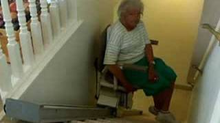 getlinkyoutube.com-Grandma Stair Yodel Cliff Hanger