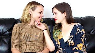 getlinkyoutube.com-Lindsay & Izzy - Our First Lesbian Date