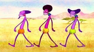 getlinkyoutube.com-Marty e i suoi amici - I Watussi - La TV dei Bambini, Canzoncine per Bambini
