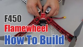 getlinkyoutube.com-How to build the DJI F450 Flamewheel Drone with Naza Flight Controller and DT7 Radio