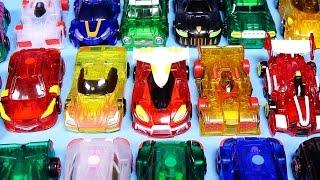 getlinkyoutube.com-25대 터닝메카드 변신 장난감 25 MeCard cars card transforming robot car toys カード変身車のおもちゃ