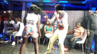 VJ RUBBY TYTER LIVE ON STAGE #SEPETUA MSEPETUNI #ONFIRE $