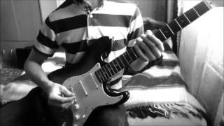 getlinkyoutube.com-Behemoth - Blow Your Trumpets Gabriel (Guitar cover)