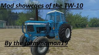 Farming simulator 15 - Mod Showcase - TW-10