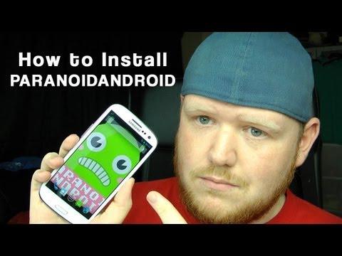 Install PARANOID ANDROID Jelly Bean ROM Galaxy S3 (CM10)
