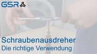 getlinkyoutube.com-Schraubenausdreher - Die richtige Verwendung