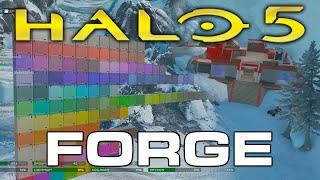 getlinkyoutube.com-Halo 5: Guardians - Forge Mode Live stream Segment (Cartographer's Gift)