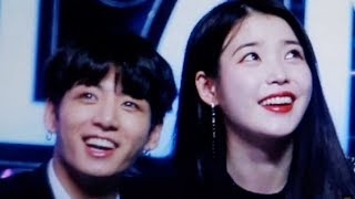 BTS Jungkook Was So Shy When IU Bowed To Him @ Melon Music Awards 2017