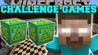 getlinkyoutube.com-Minecraft: HEROBRINE FIGHT CHALLENGE GAMES - Lucky Block Mod - Modded Mini-Game