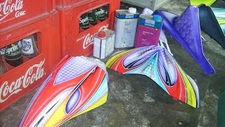 getlinkyoutube.com-Modifikasi Yamaha Mio Soul Airbrush Tahap Melapisi Clear Coat