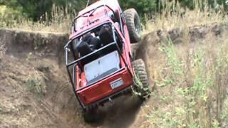 getlinkyoutube.com-2011 MN Trail Riders Jeep 4x4 Club Host Fall River Falls Run - Part 1 of 2