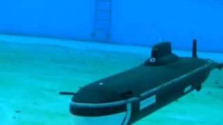 getlinkyoutube.com-Tk-20 Model RC Submarine Typhoon Class (Project 941 Akula )